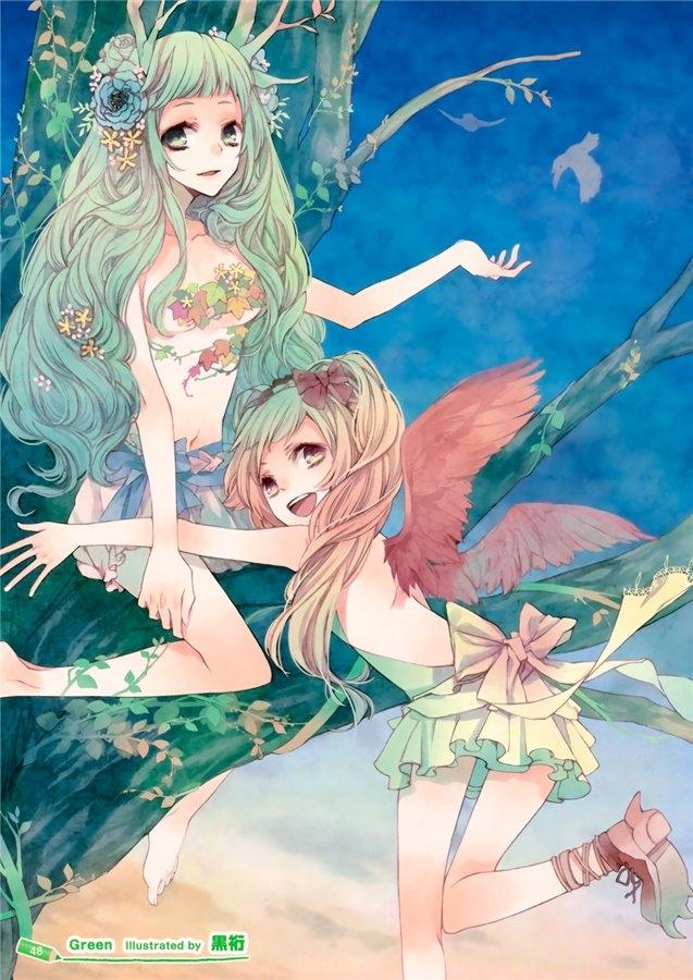 аниме девушки красивые и *** уальные артбук Girls Girls Girls!