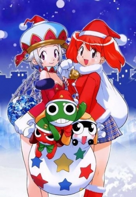 New Year, Christmas anime art 49 New Year Christmas anime art