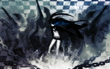 Black Rock Shooter 15 Anime Black Rock Shooter Аниме