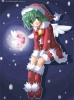 New Year, Christmas anime art 34 New Year Christmas anime art
