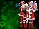 New Year, Christmas anime art 35 New Year Christmas anime art