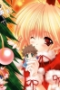 New Year, Christmas anime art 40 New Year Christmas anime art