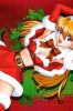 New Year, Christmas anime art 50 New Year Christmas anime art