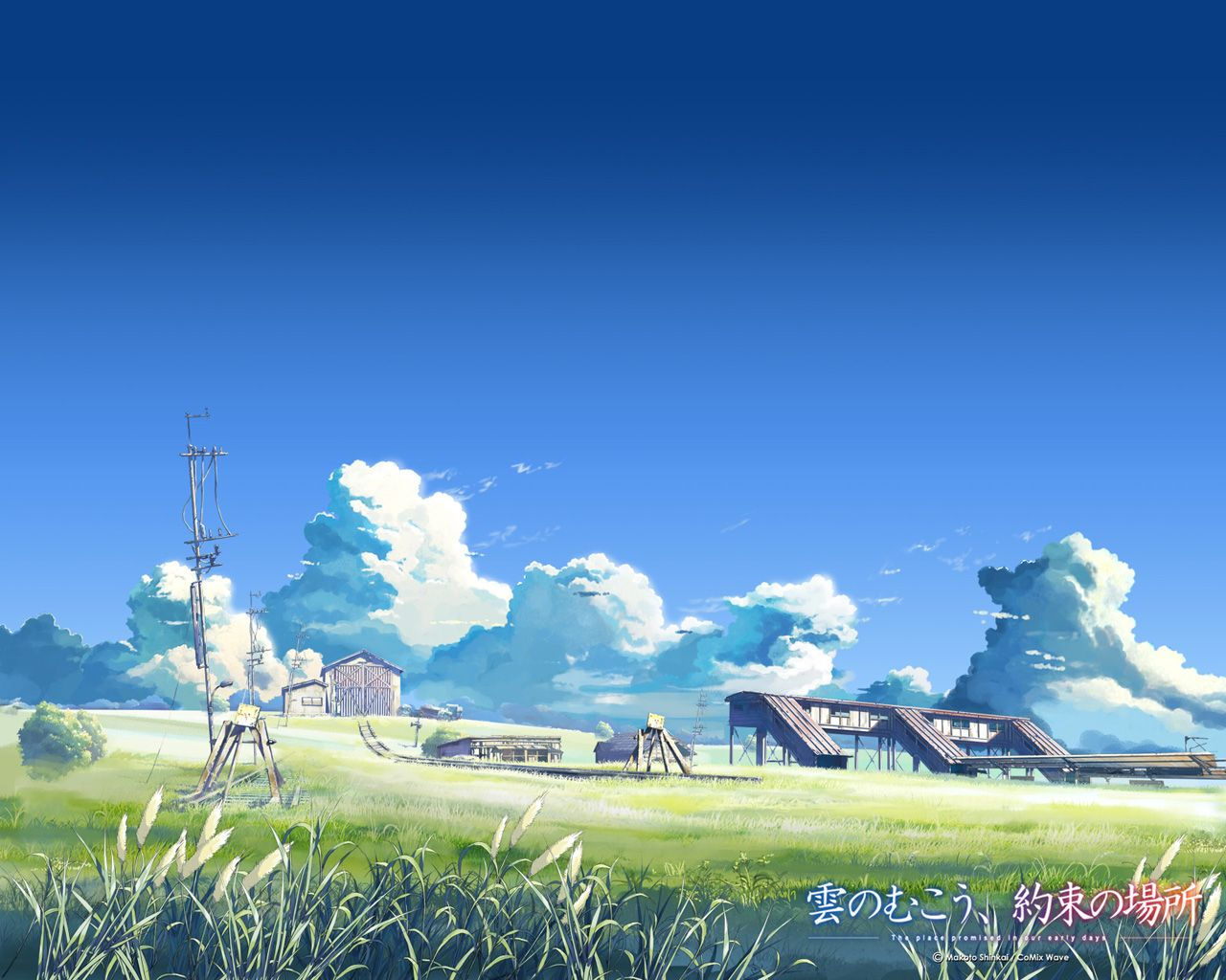 За, облоками, Unknown, anime, wallpapers, |, Аниме, обои, без, названия