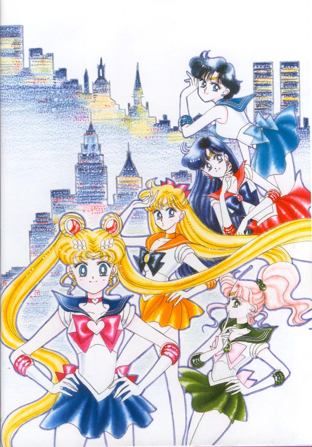 book, sailormoon, sailor, moon, Artbook