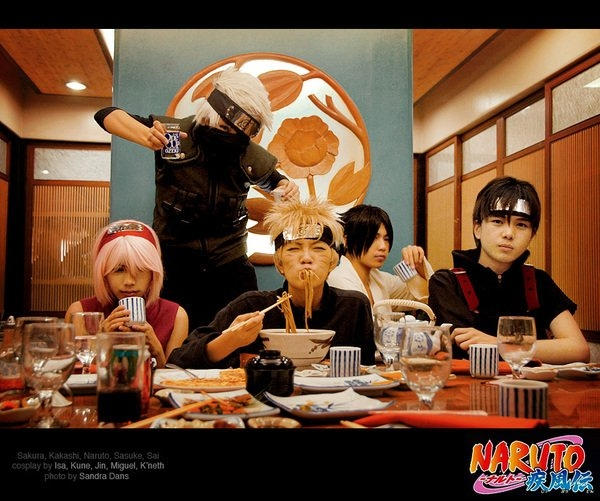 Косплей, по, Naruto, cosplay, наруто