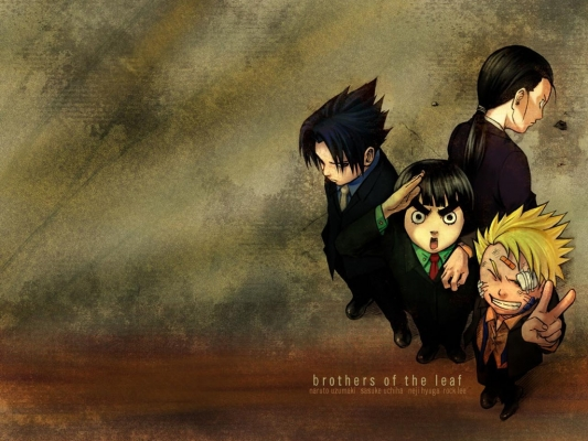 The Naruto Wallpapers Narutobrothers Of The Leaf photograph is part of