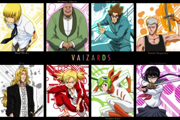 Vaizards Bleach блич