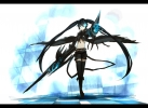 Black Rock Shooter Vocaloid Hatsune Miku Black Rock Shooter