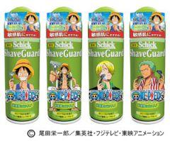 Промо-акция компании Schick с участием One Piece