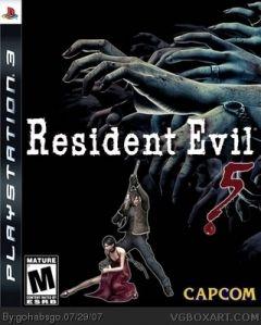 игра resident evil 5 box