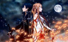 Игра по аниме Sword Art Online на PS Vita