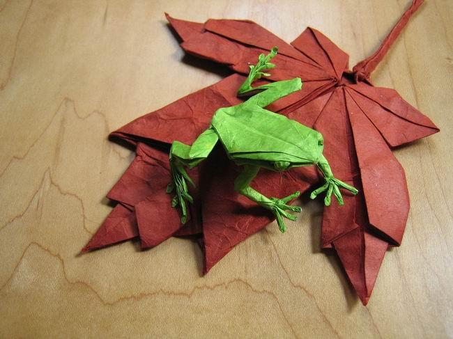 более популярным. Оригами