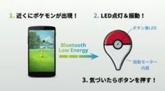 Nintendo, Pokemon, Покемон, iOS, Android, Game Freak, Niantic, livestreamed, Pokemon GO, Pokemon Go Plus, Bluetooth, DeNA