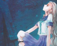 Аниме обои: Literary Girl - Литературная девушка