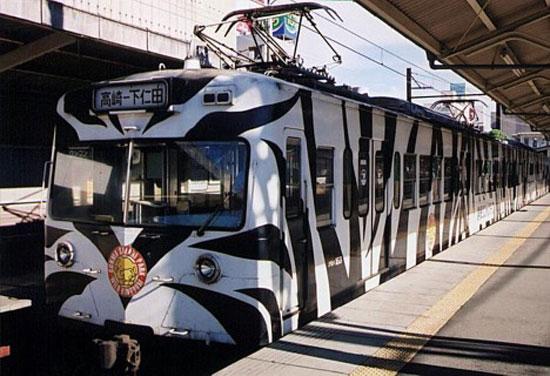 """поезд """"Гунма сафари"""", Линия Джошин, префектура Гунма"""