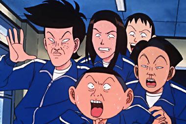 Manga Манга «Ike! Inachu Takkyuubu» («Ping Pong Club») Minoru Furuya.