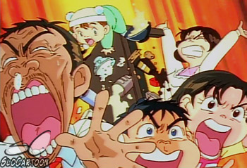 «Urayasu Tekkin Kazoku» («Super Radical Gag Family») Kenji Hamaoka.