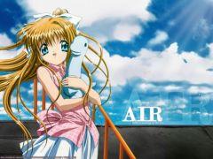 Аниме обои: Air - Высь