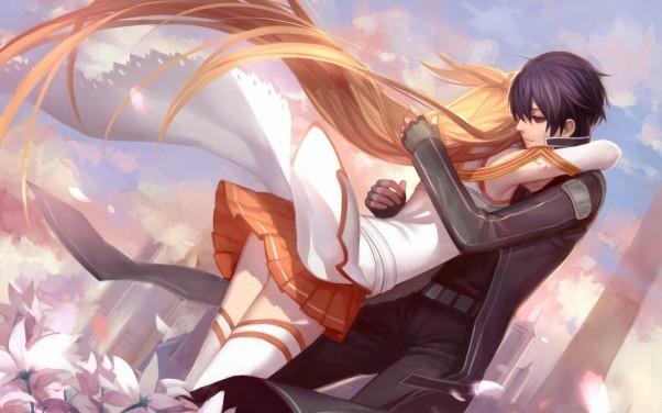 Смотреть аниме про любовь