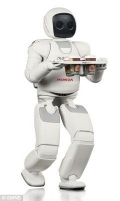 Робот Асимо может приносить кофе