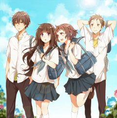 Смотреть аниме про школу
